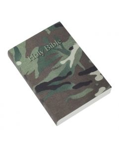 Pocket Reference Bible (camouflage vinyl) cover