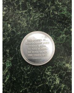 TfT! Gospel Coin Acts 16v31 / 1Cor 15v1 - front