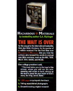 Hazardous Materials Tract by Gail Riplinger