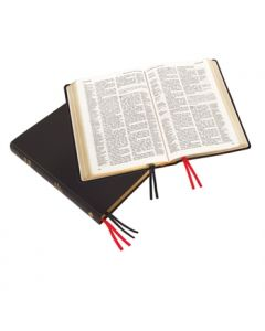 Large Print Westminster Reference Bible (calfskin) - Black