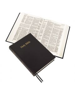 Large Print Westminster Reference Bible (hardback) - Black
