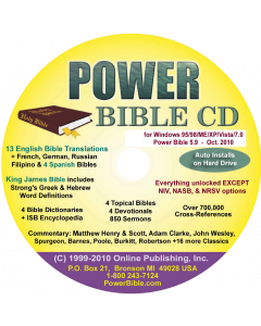 Power Bible CD
