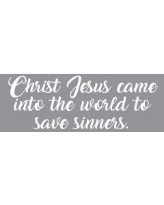 TfT - Window and car transfers / decal-stickers - Christ Jesus