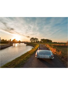 TfT - Greeting Card Car Sunset