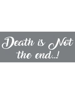 TfT - Window and car transfers / decal-stickers - Death is not the end