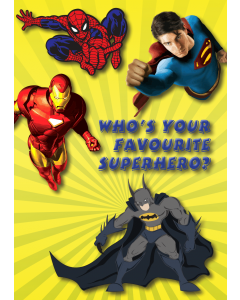 Who's your favourite Superhero?