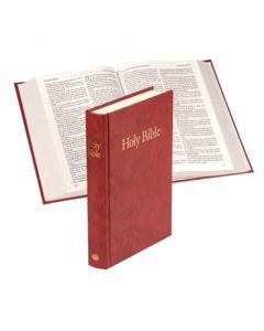 Windsor Text Bible (hardback) - Red