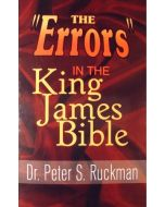 "Dr. Peter S. Ruckman - The ""Errors"" in the King James Bible - RK-96"