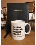 TfT! KJV Bible Believing Mug