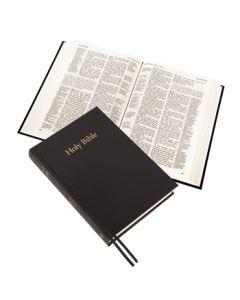 Large Print Westminster Reference Bible (hardback) - Black