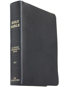 Ruckman Reference Bible - Black Cowhide (1 piece) BL-4702