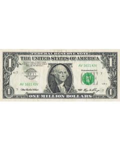 TfT! One Million Dollars Note