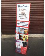 Gospel Cart with Church Magnetic Sign and JW Small Sign